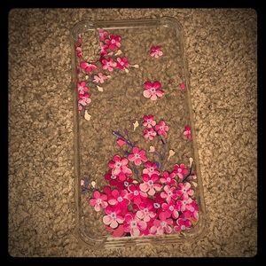 iPhone XR Plastic Floral Case